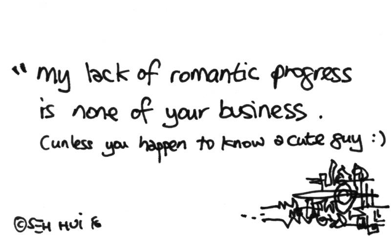 'Romantic Progress' by Seh Hui