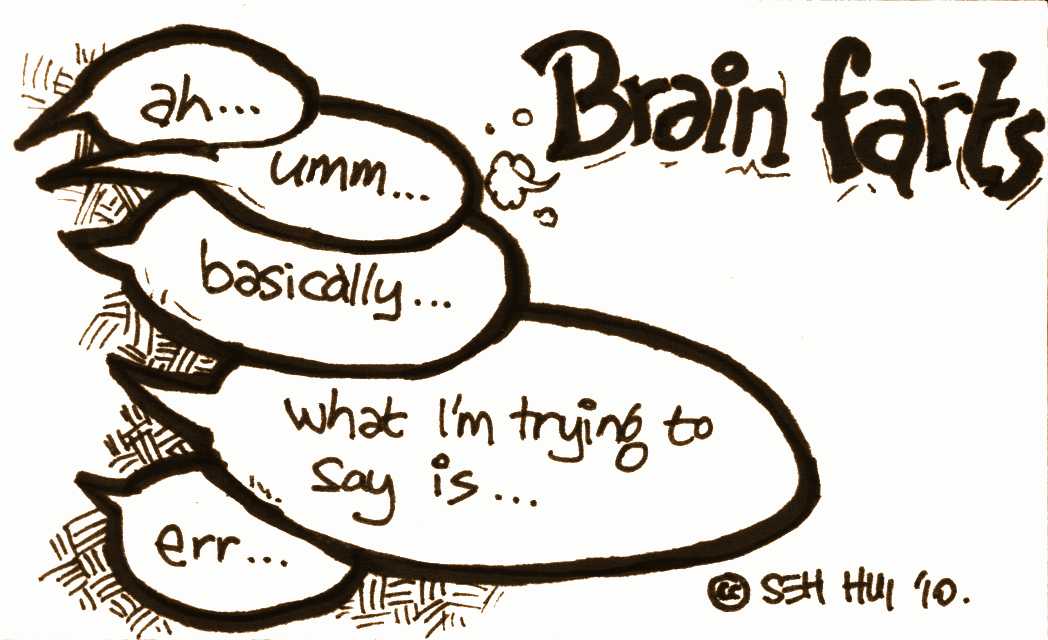 'Brain Farts' by Seh Hui