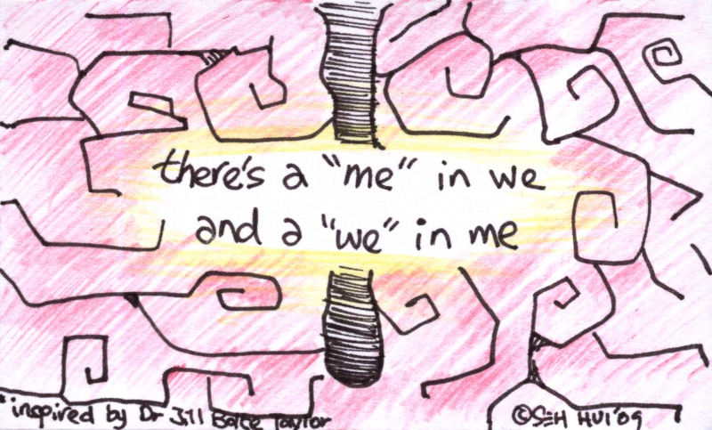 'We In Me' by Seh Hui