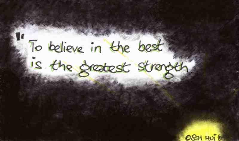'Believe in the Best' by Seh Hui