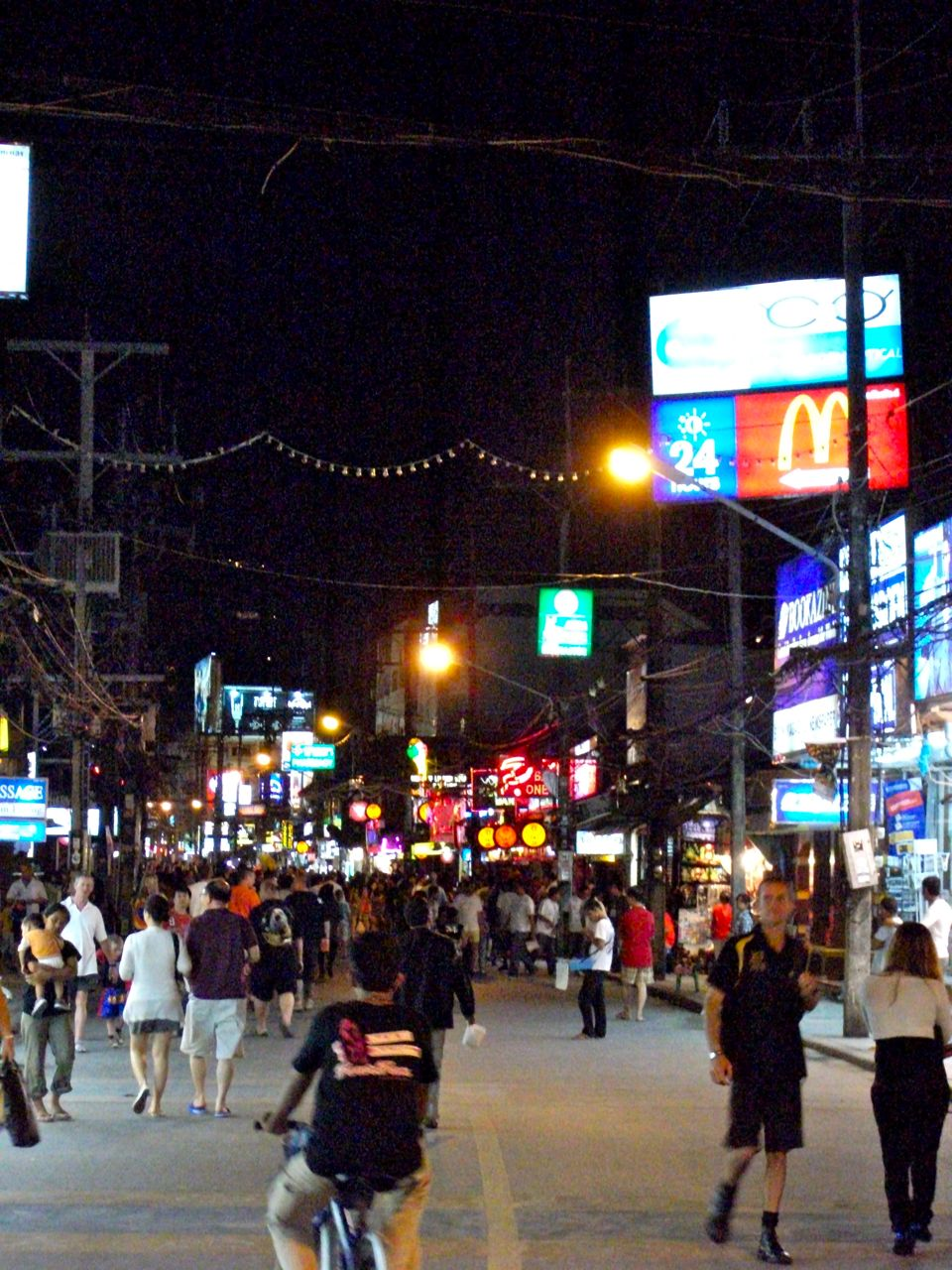 'Night Walk along Patong' by Seh Hui