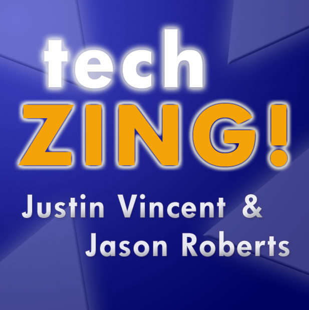 'TechZing Podcast Logo'