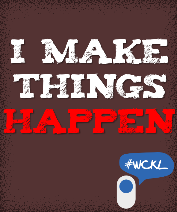 I Make Things Happen by Seh Hui