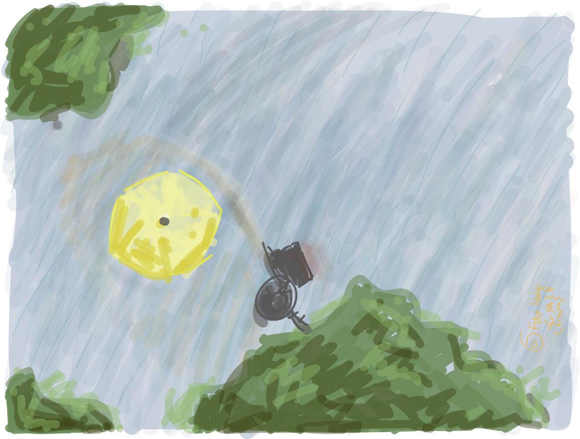 'Walking in the Rain' by Seh Hui